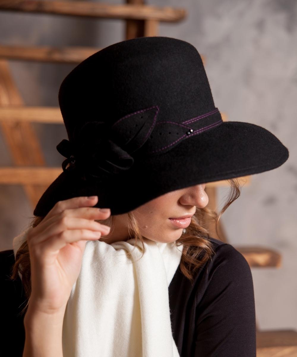 Купить Шляпу Фетровую Женскую В Спб