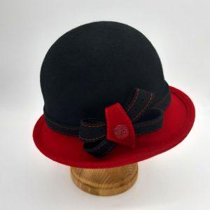 Модель 002 черный / красный