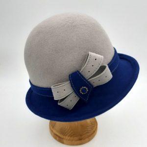 Модель 002 светло-серый / синий