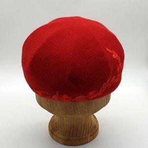 Модель 77 красный с декором